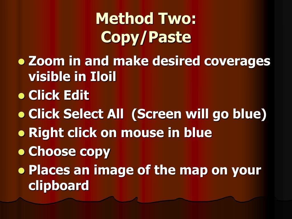 Method Two: