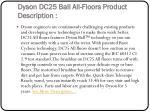 dyson dc25 ball all floors product description