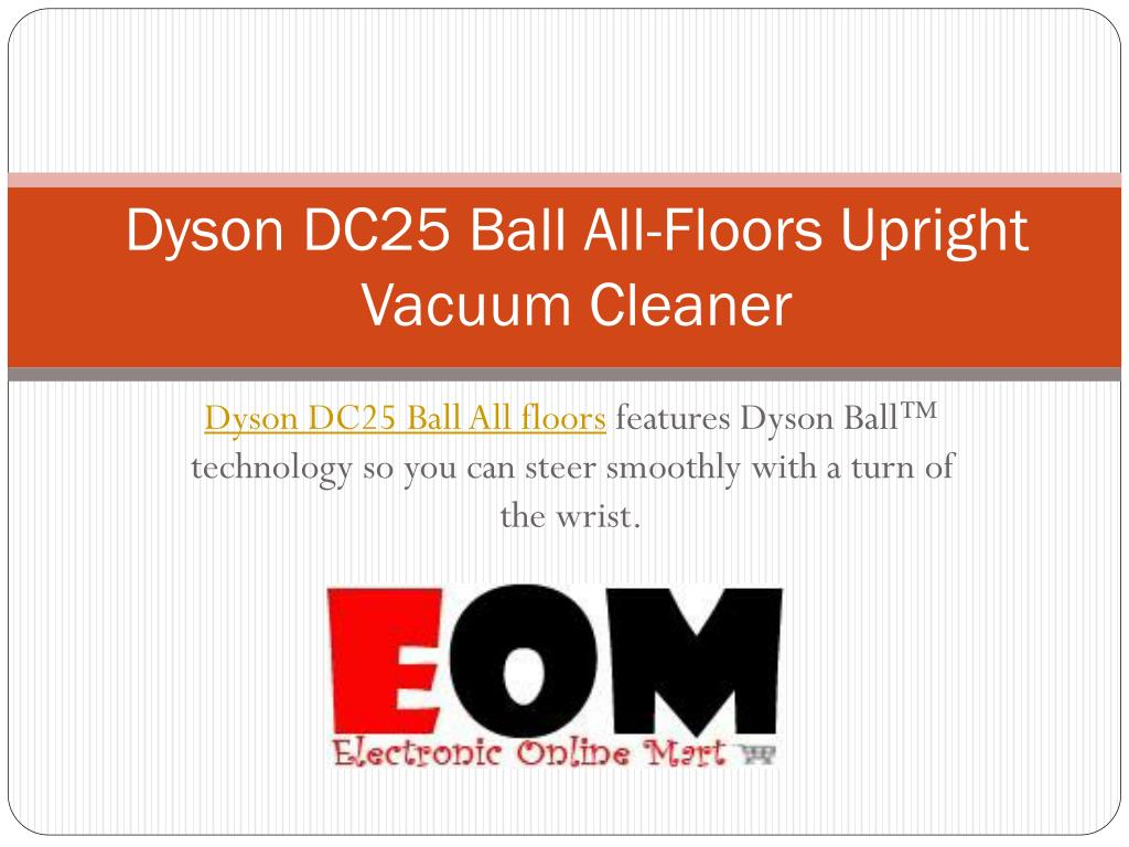 dyson dc25 ball all floors upright vacuum cleaner l.