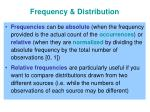 frequency distribution1