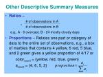 other descriptive summary measures2
