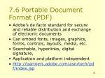 7 6 portable document format pdf