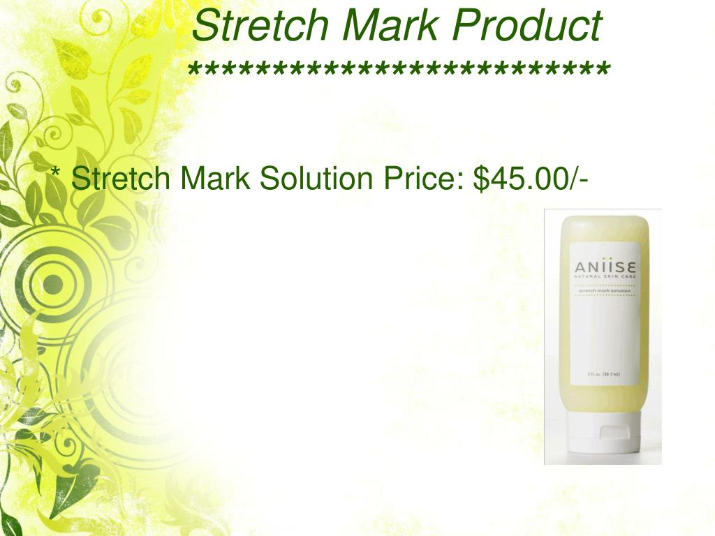 Stretch Mark Product