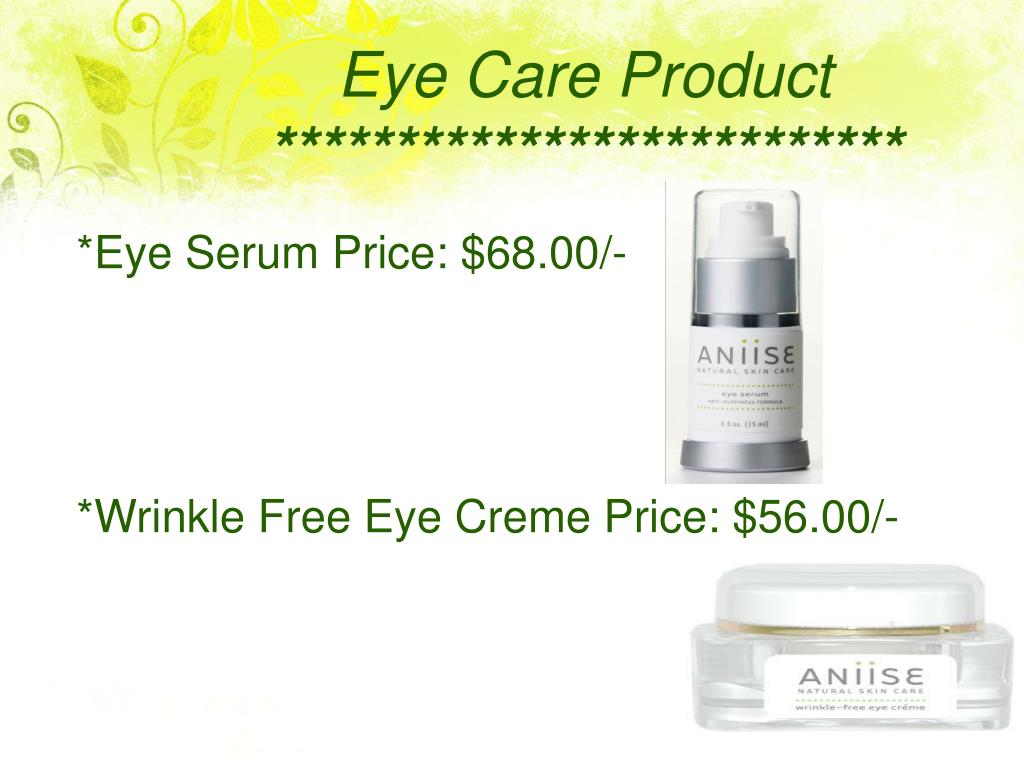 Eye Care Product