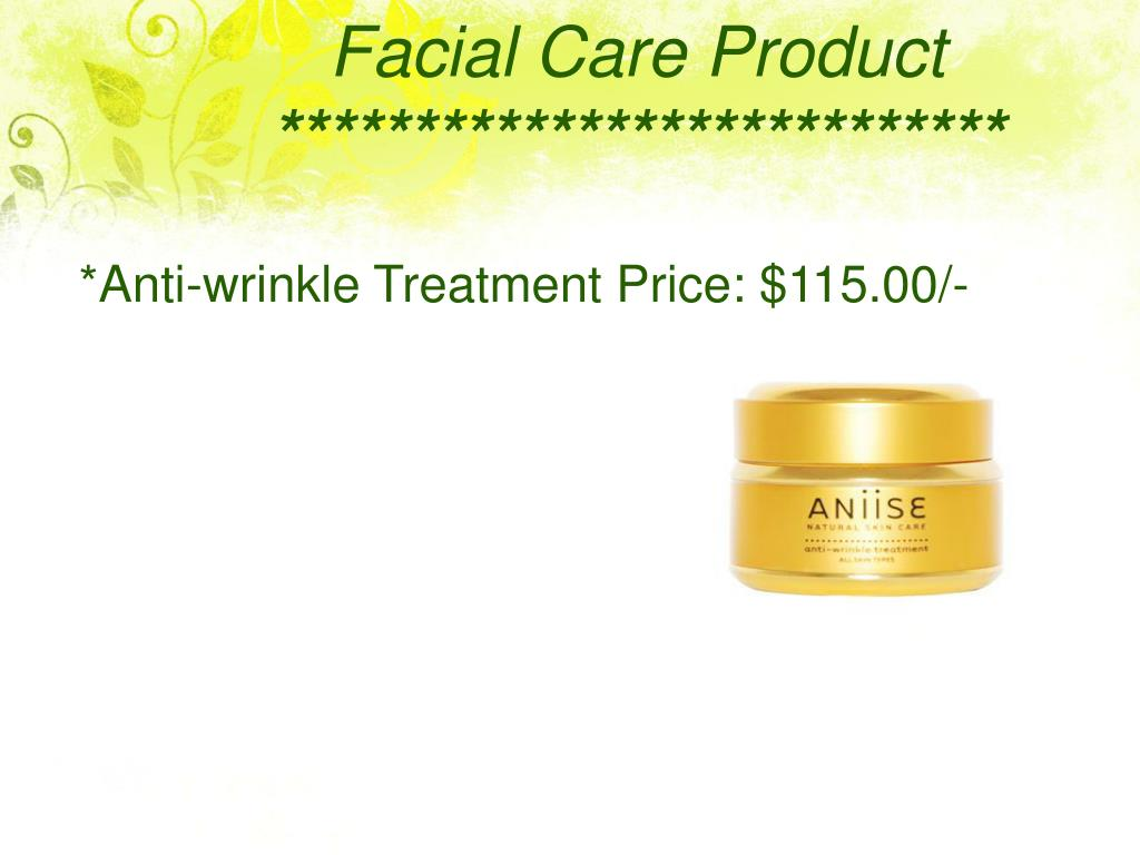 Facial Care Product