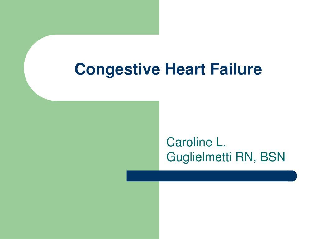 congestive heart failure l.