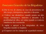 funciones generales de los brigadistas1