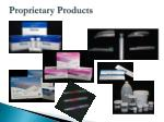 proprietary products
