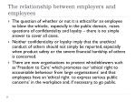 the relationship between employers and employees24