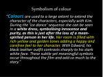 symbolism of colour