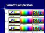 format comparison57