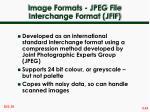 image formats jpeg file interchange format jfif