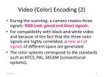 video color encoding 2