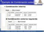 ejemplo de combinaci n externa1