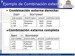 ejemplo de combinaci n externa2