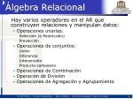 lgebra relacional1