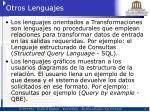 otros lenguajes
