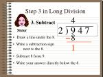 step 3 in long division