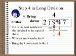 step 4 in long division
