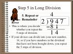 step 5 in long division