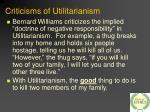 criticisms of utilitarianism19