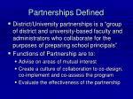partnerships defined