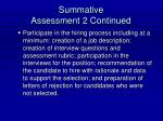 summative assessment 2 continued