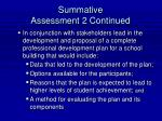 summative assessment 2 continued31