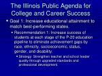 the illinois public agenda for college and career success