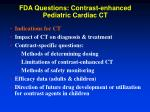fda questions contrast enhanced pediatric cardiac ct1