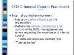 coso internal control framework continued1