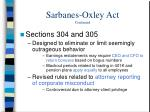 sarbanes oxley act continued4