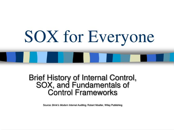 sox for everyone n.