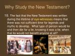 why study the new testament12