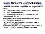 nursing care of the client with cancer19