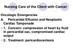 nursing care of the client with cancer33