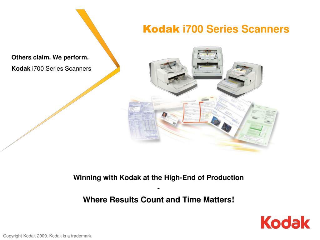 kodak i700 series scanners l.