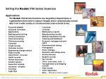 selling the kodak i700 series scanners