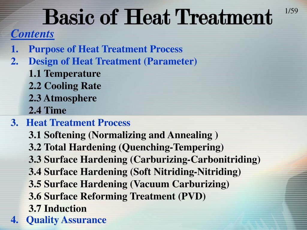 basic of heat treatment l.