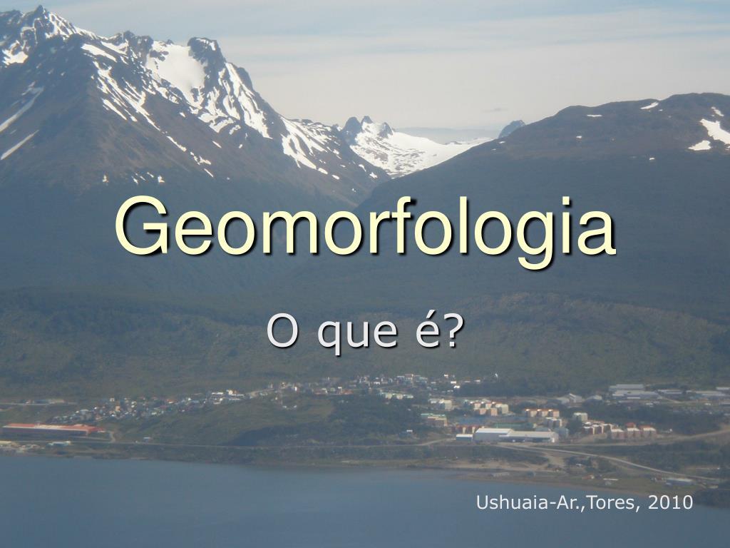 geomorfologia l.