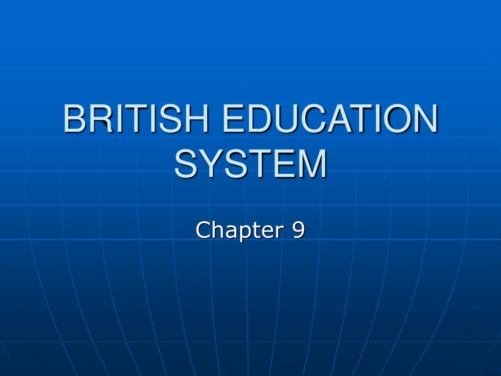 british education system l.
