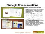 strategic communications