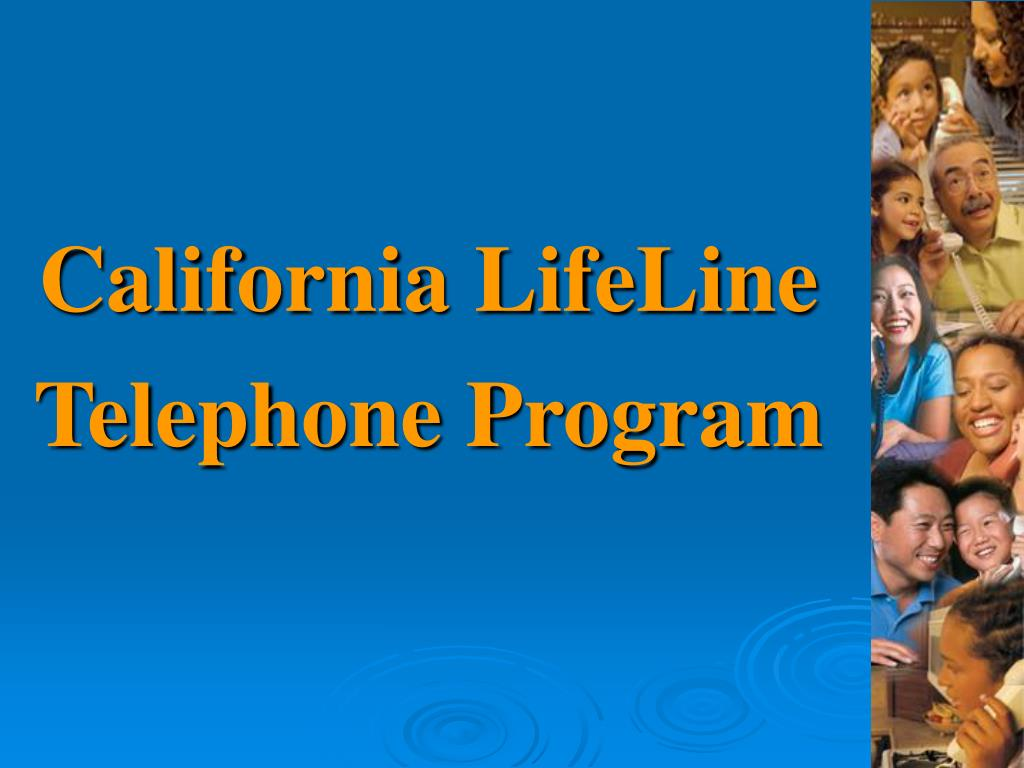 california lifeline telephone program l.