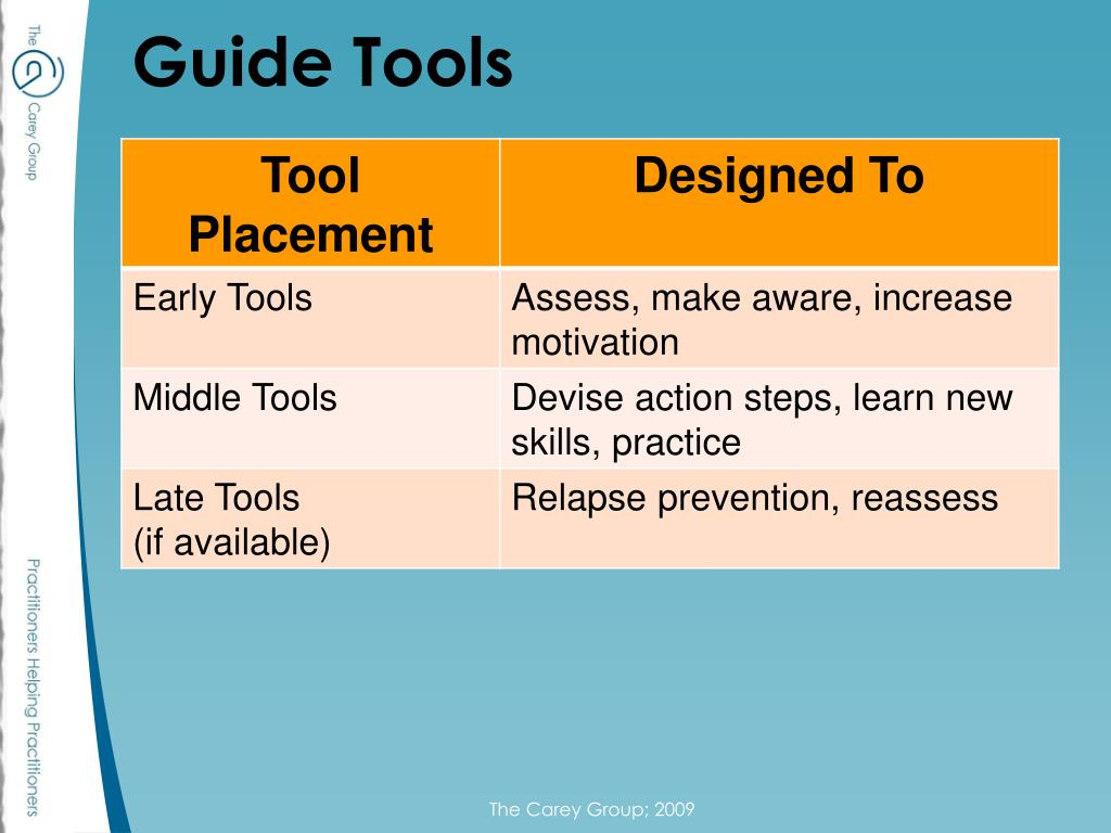 Guide Tools