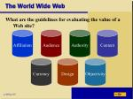 the world wide web35