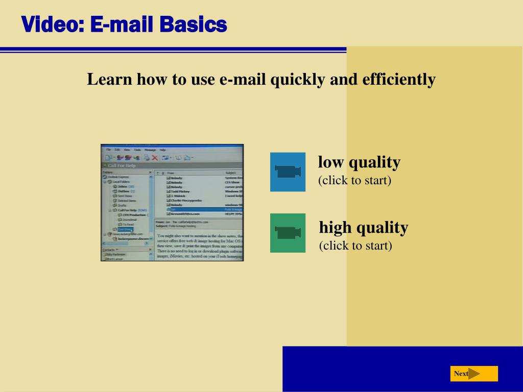 Video: E-mail Basics