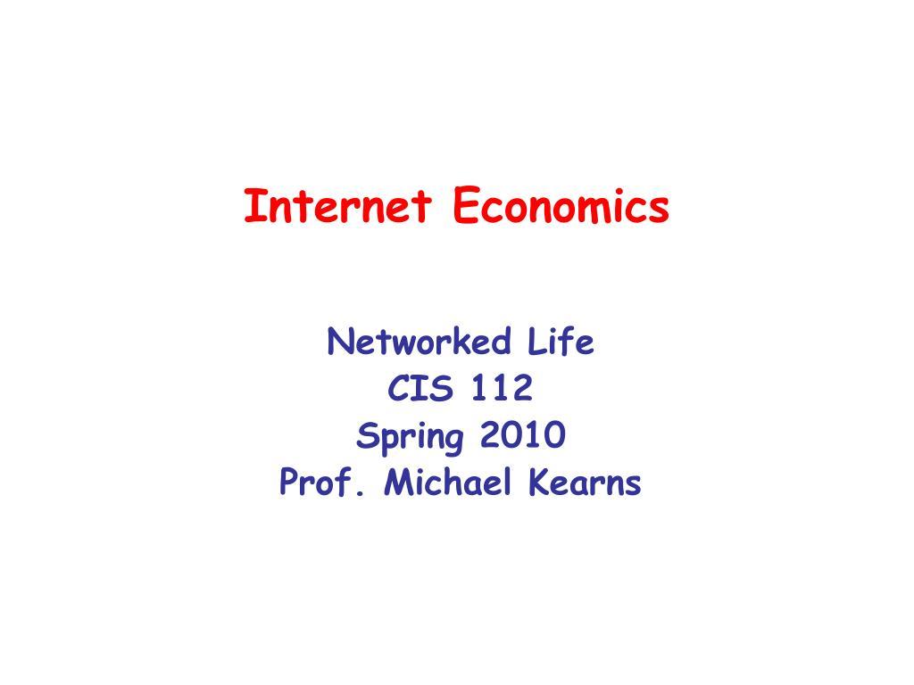 internet economics l.