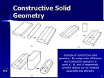 constructive solid geometry44
