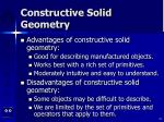 constructive solid geometry45