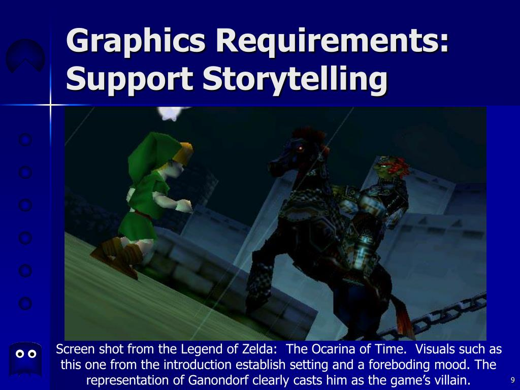 Graphics Requirements: Support Storytelling